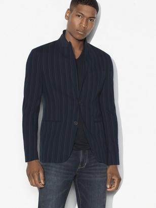 Vintage Striped Soft Jacket $398 thestylecure.com