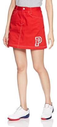 Puma (プーマ) - [プーマゴルフ] ゴルフウェア ボックススカート 923733 [レディース] ハイ リスク レッド (01) 日本 L-(日本サイズL相当)