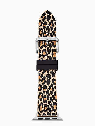 Kate Spade Leopard silicone 38/40mm apple watch® strap