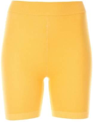 Bodhi Nagnata side stripe biker shorts