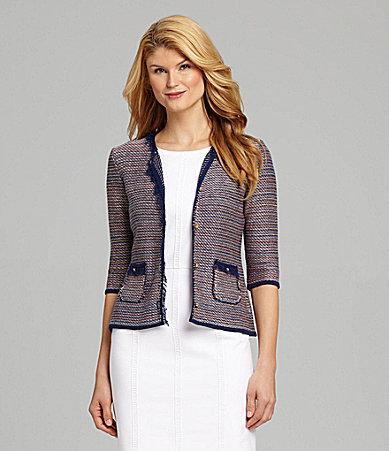 Antonio Melani Egna Tweed Jacket