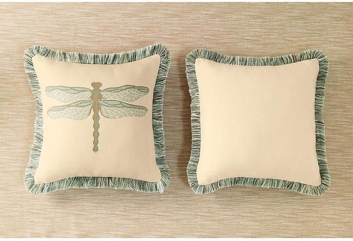Sunbrella® Dragonfly Indoor and Outdoor Pillows