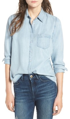 Women's Dl1961 Mercer & Spring Chambray Shirt $178 thestylecure.com