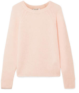 Max Mara Cashmere And Silk-blend Sweater - Pastel pink