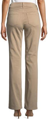 NYDJ Marilyn Mid-Rise Straight-Leg Pants