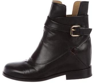 Thakoon Leather Ankle Boots