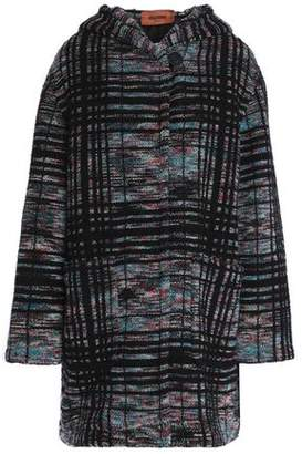 Missoni Wool-Blend Bouclé Hooded Coat