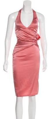 Gucci Silk Halter Dress