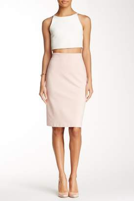 Philosophy Apparel Solid Ponte Pencil Skirt
