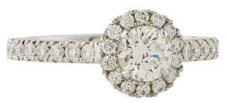 Marchesa 18K 0.71ct Diamond Engagement Ring