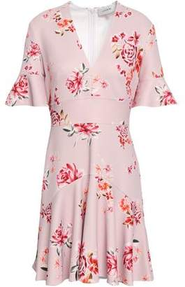 Lover Floral-print Stretch-jersey Mini Dress