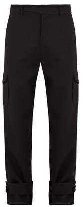J.W.Anderson Strap-detail wool cargo trousers