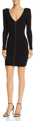 GUESS Knit Zip-Front Dress