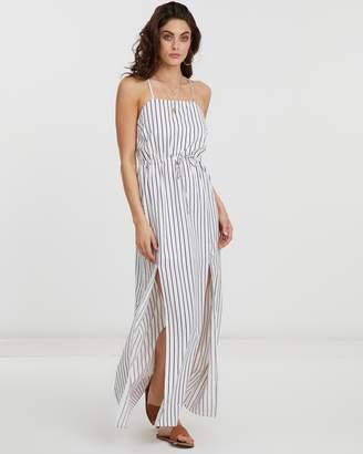 Atmos & Here Selina Stripe Maxi Dress
