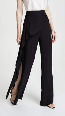 Michelle Mason Side Drape Pants