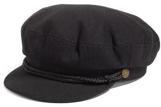 Men's Brixton Fiddler Cap - Black $42 thestylecure.com