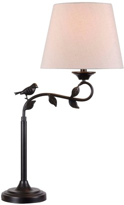 Kenroy Home Birdsong Swing Arm Table Lamp
