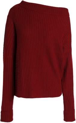 Agnona (アニオナ) - Agnona リブ編み カシミヤ セーター