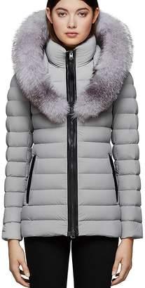 Mackage Kadalina-X Fox Fur Trim Light Down Coat