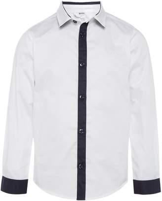 HUGO BOSS Boys Smart Cotton Shirt