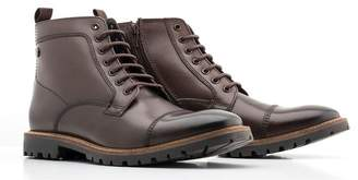 Base London Brigade Lace Up Combat Boot