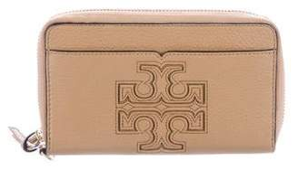 Tory Burch Grained Leather Continental Wallet