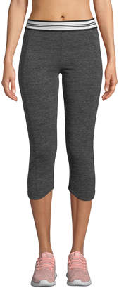 Marc Ny Performance Space-Dye Lo-High Capri Leggings