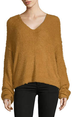 Free People Princess V-Neck Sweater