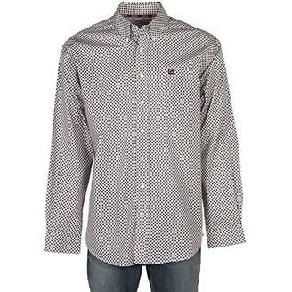 95e33debc4f5f Cinch Men s Classic Fit Long Sleeve Button One Open Pocket Print Shirt