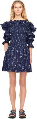 Rebecca Taylor Off-The-Shoulder Francine Floral Dress