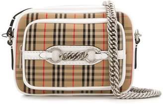 Burberry signature check crossbody bag