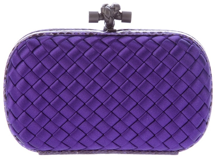 Bottega Veneta woven box clutch