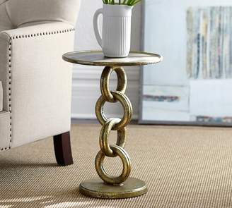 Pottery Barn Chain Link End Table