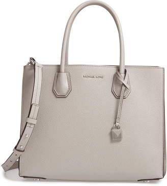 b160c4b75008 MICHAEL Michael Kors Gray Large Tote Bags - ShopStyle