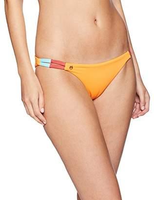 Maaji Women's Reversible Side Detail Cheeky Cut Bikini Bottom Swimsuit