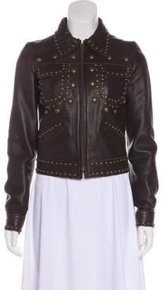 Chloé Studded Leather Jacket