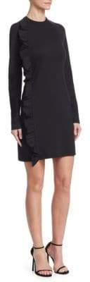 Victoria Beckham Victoria, Asymmetric Ruffle Dress