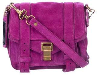 Proenza Schouler Mini Suede PS1 Crossbody Bag