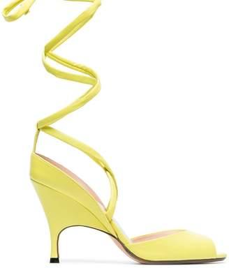 Ballin Alchimia Di yellow Lidae 95 leather sandals