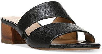 Franco Sarto Tallen Slip-On Sandals $79 thestylecure.com