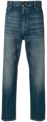 Stella McCartney faded loose fit jeans
