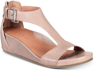 Gentle Souls by Kenneth Cole Women Gisele Wedge Sandals Women Shoes