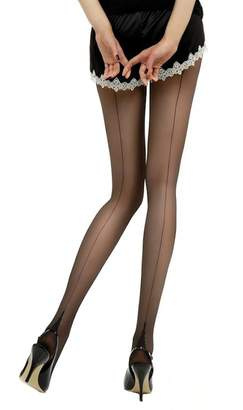 Jonathan Aston Hosiery New Seam & Heel Tights