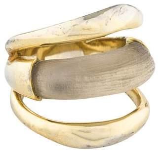 Alexis Bittar Lucite Orbital Ring