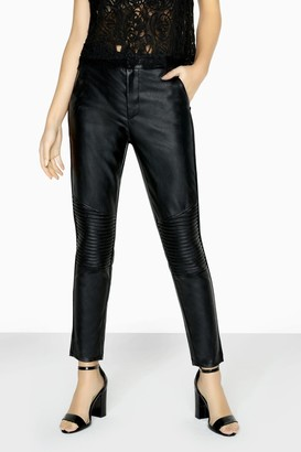 Girls On Film Outrageous Fortune Leather Look Trouser