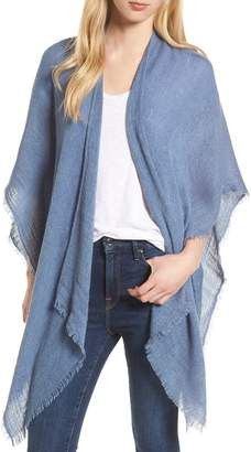 Echo Fringe Trim Cape