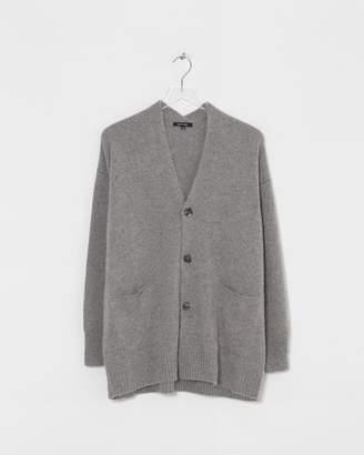 Pas De Calais Grey Knit Cardigan