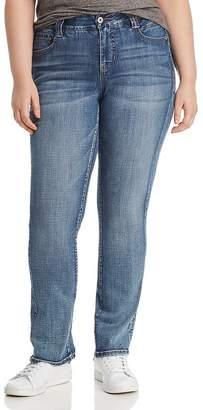 Jag Jeans Plus Eloise Bootcut Jeans in Medium Indigo