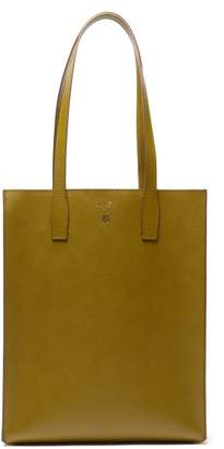 Mark Cross Fitzgerald Leather Tote Bag - Mens - Green