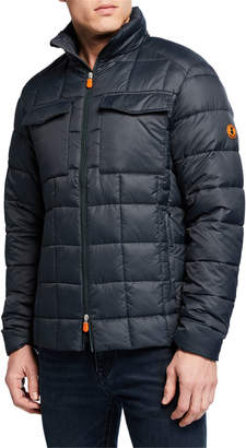 Save The Duck Men's Puffer Quilted Jacket